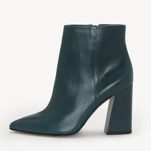 """NWT VINCE CAMUTO """"thelmin"""" booties"""